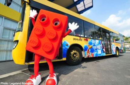 乐高乐园往返巴士 Legoland 2 way coach